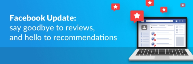 August 2018 Facebook Reviews Recommendations Update